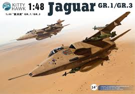 1.48th Jaguar T2/E Conversion set For Kittyhawk and Airfix Kits