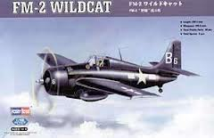 F4F-3/4 FM-1/2 Wildcat control surfaces